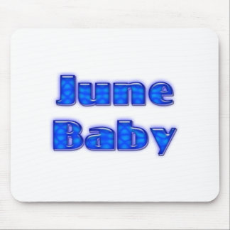 June Baby Mouse Pad