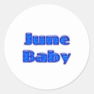 June Baby Sticker