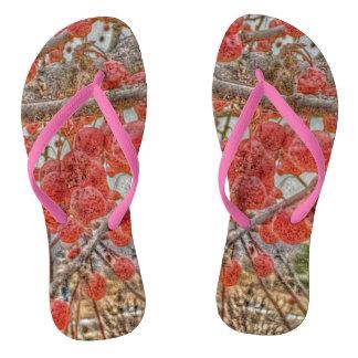 June Berry Flip Flops