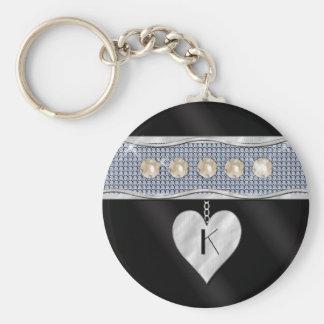 June Birthday Charm Key Chains