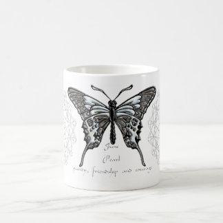 June Birthstone Butterfly Mug