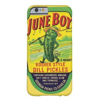 June Boy Kosher Dill Pickles Georgia USA Vintage Barely There iPhone 6 Case