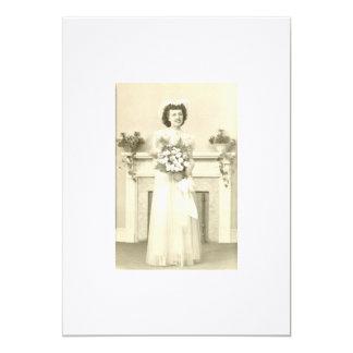 June Bride Custom Announcement