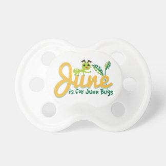 June Bug Pacifiers