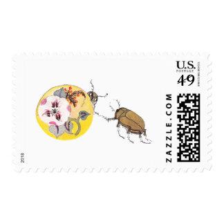June Bugs Play Hide and Go Seek Postage
