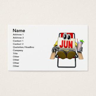 June Business Card