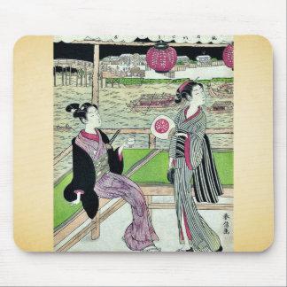 June by Suzuki Harunobu Ukiyoe Mousepad