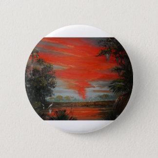 June FireSky Pinback Button
