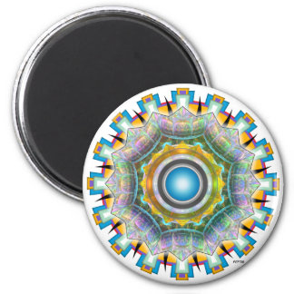 June Glass 2 Inch Round Magnet