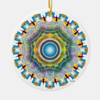June Glass Ceramic Ornament