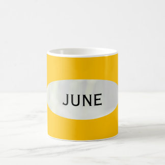 June Gold Coffee Mug by Janz