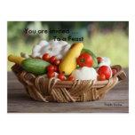June Harvest Postcard