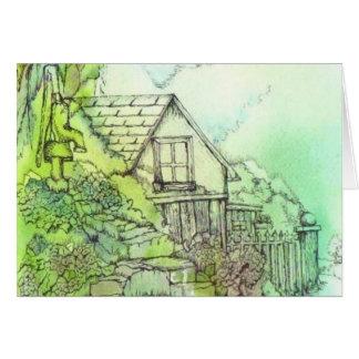 June in the Garden Card