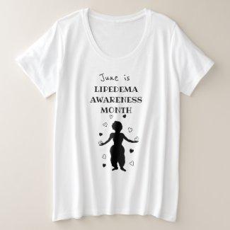 June is Lipedema Awareness Month Plus Size T-Shirt