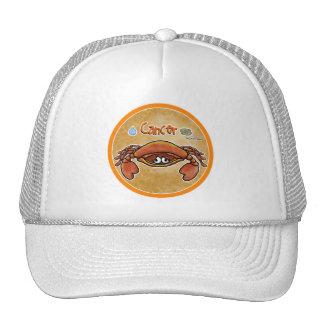 June & July - Zodiac Sign - Cancer Trucker Hats