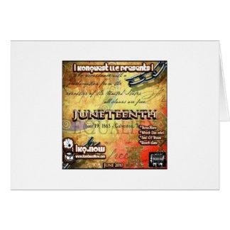 June - JuneTeenth Card