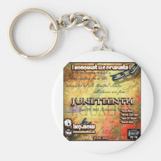 June - JuneTeenth Keychain