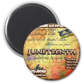 June - JuneTeenth Magnet