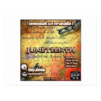 June - JuneTeenth Postcard