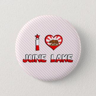 June Lake, CA Button