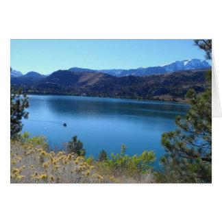 June Lake California Cards