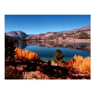 June Lake Mammoth Lakes California Postcard