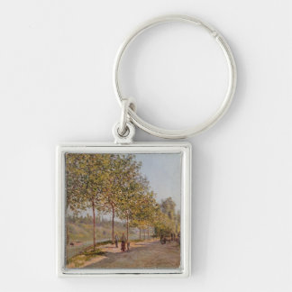 June Morning in Saint-Mammes, 1884 Keychains