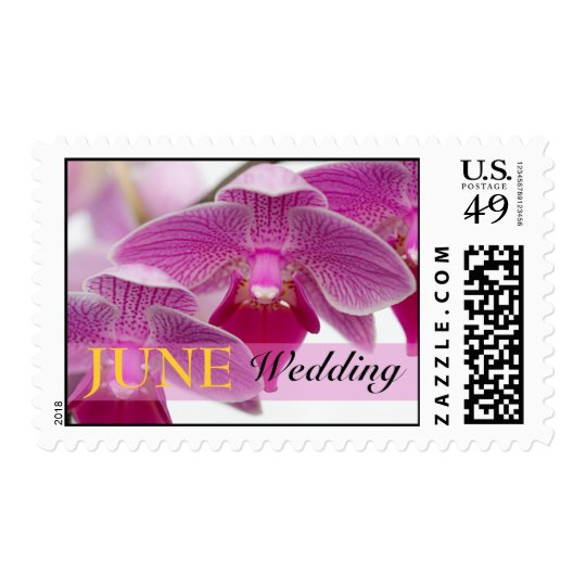 June Orchid Postage