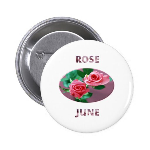 "June ""Roses"" Buttons"