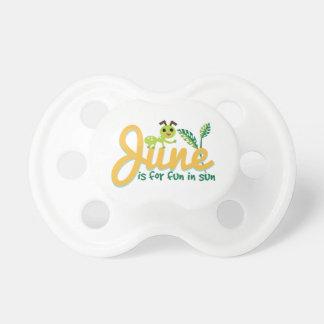 June Sun Pacifier