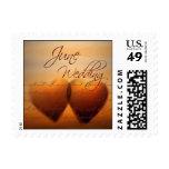 June Wedding Hearts Stamps