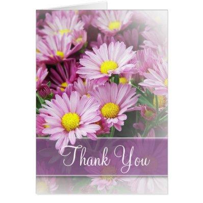 June Wedding - Lavender Daisies Card