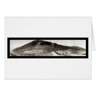 Juneau, AK Sheep Creek Photo 1914 Card