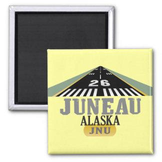 Juneau Alaska - Airport Runway Magnets