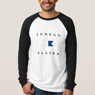 Juneau Alaska Alpha Dive Flag Tee Shirts