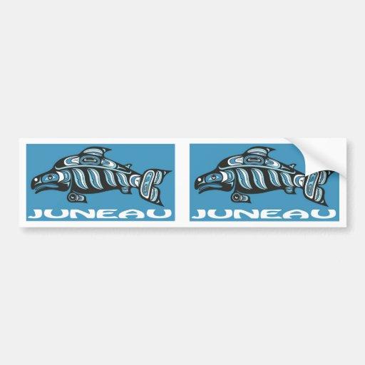 Juneau Alaska Bumper Sticker