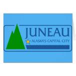 Juneau, Alaska, Estados Unidos señala por medio de Felicitación