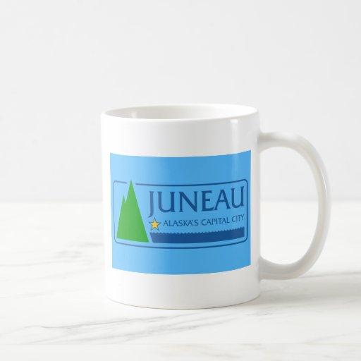 Juneau, Alaska, Estados Unidos señala por medio de Taza De Café