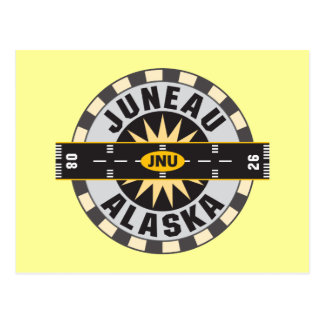 Juneau Alaska JNU Airport Post Card