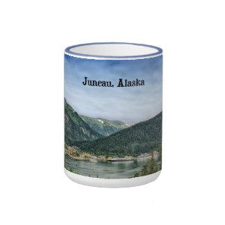 Juneau, Alaska Ringer Mug