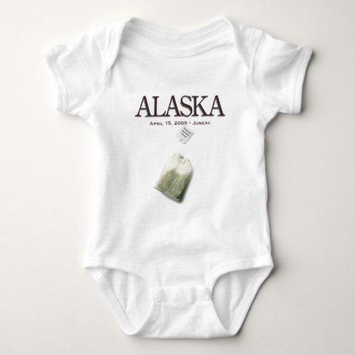 Juneau Alaska Tea Party T Shirt