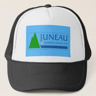 Juneau city Alaska flag united states america symb Trucker Hat