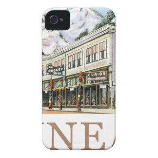 Juneau Old Witch Totem Nugget Shop iPhone 4 Case