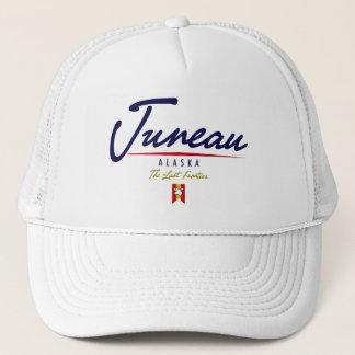 Juneau Script Trucker Hat
