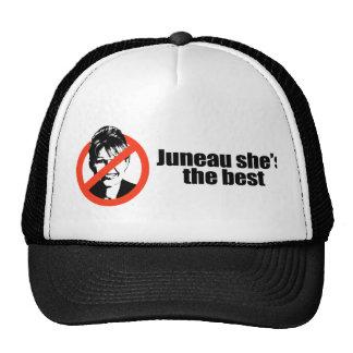 Juneau she's the best trucker hat