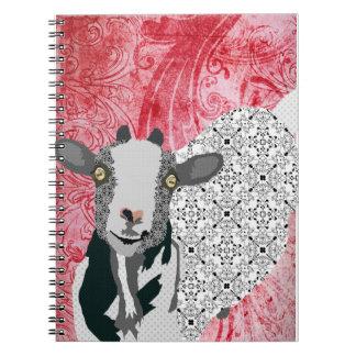 Junebug Art Red Notebook