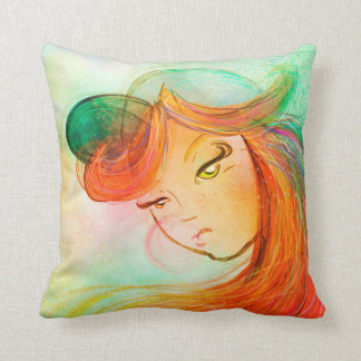 Junebug Throw Pillow
