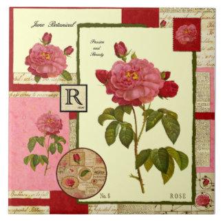 June's Flower Ceramic Tiles