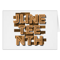 JUNETEENTH CARD