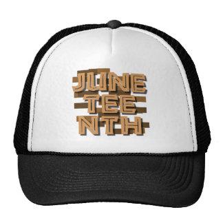 JUNETEENTH MESH HAT
